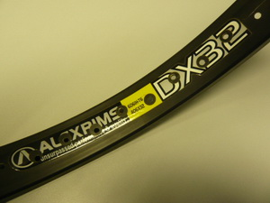 "Alexrims обод 24""(507х32) 32Н DХ32  650гр. чёрн."