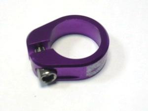 Хомут седла ф30.2 с болтом DMR Grab purple   *