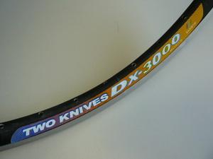 "Rainbow обод 24"" (507х19) 36Н DX-3000 чёрн."