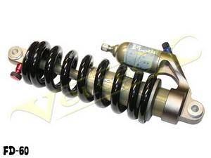 Kind Shock аморт. зад. возд-масл L220mm, ход 63mm с пружиной для DH Регулировка: отскок, скорость
