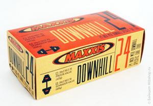Maxxis Камера Downhill 24х2.50/2.70 1.5мм 420гр.Schrader-48мм.2012г.(IB49963000)
