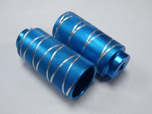 PAZZAZ ВМХ пеги ф14 AL 50х110 с крестообр.проточками PG950061-DX14 синие