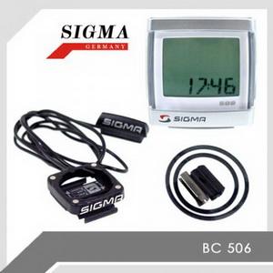 Sigma Велокомпьютер ВС  506 Topline 5функций ( 05160 )---