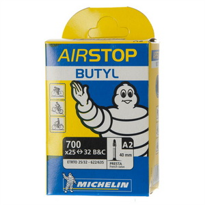 Michelin Велокамера A2 Airstop 622-32/25 (700х25/32) Presta 40мм (317049)