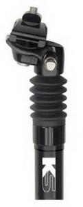 Kind Shock подседельный штырь 27.2х350mm с регулир.жёст. насосом AL6061кован.чёрн. KSP-900