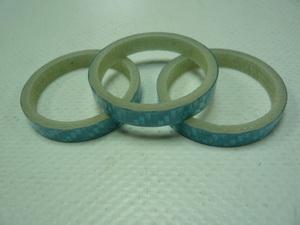 "Кольцо р/к 1-1/8"" H 5мм Primeaero carbon синее"