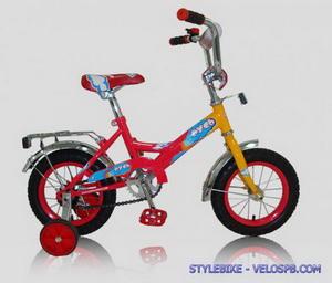 """Велотехника велосипед 12"""" Русь"""