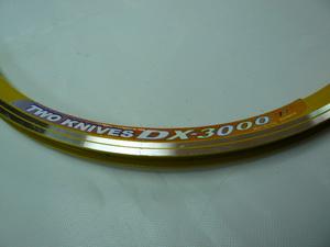 """Rainbow обод 26"""" (559х19) 36Н DX-3000 жёлт."""