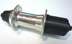 Sun Rase втулка задняя HB-M53-36H-7ск с эксц. серебр.