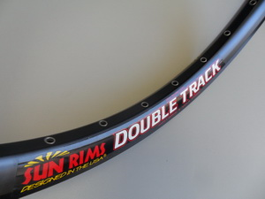"Sun Ringle обод 24"" (507х39) 36Н Double Track welded Black Disc 750гр."