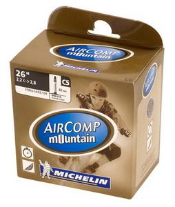 Michelin Велокамера C5 Comp СH 559-62/54 (26х2.2/2,8) presta 40мм (337687)