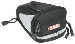 Сумка ABUS ST 150 KF SE ALLROUND под седло 2л быстросъёмн. 332234 чёрно-серая