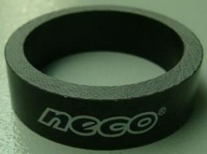 "Кольцо р/к 1-1/8"" H10мм Neco carbon чёрн."