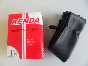 "Kenda велокамера 20""х1.75/2.125 0.87мм  A/V 33 мм 126гр.(511307)"
