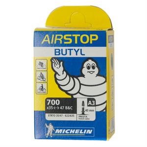 Michelin Велокамера A3 Airstop 622-35-47 (700х35/47) auto 34мм (799175)