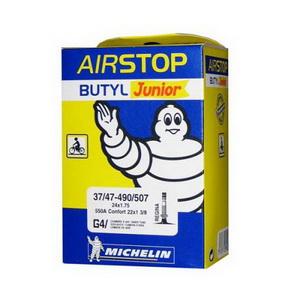 Michelin Велокамера G4 Airstop 406-47/37 (20х1.5/2.10) авто 34мм (819653)
