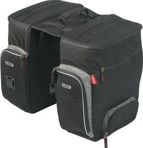 Сумка ABUS ST 3550 Sherton на багажник из двух частей+влагозащитн. чехол чёрн. 429460