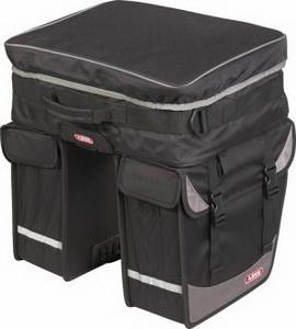 """Сумка ABUS ST 855 BASICO на багажник """"штаны"""" 1х22л, 2х11.5л 515712 чёрн."""