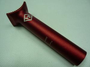 Штырь подседельный ф25.4хL135 AL6061 Red ВМХ pivotal VB-012