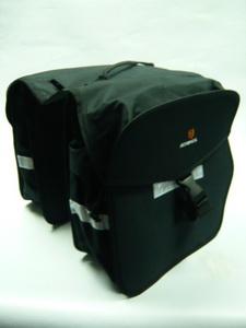 Сумка 14264 на багажник 16,5л бок.сумки-350х335х153мм чёрн.