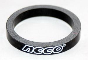 "Кольцо р/к 1-1/8"" H 5мм Neco carbon чёрн."