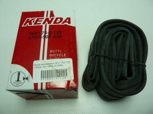"Kenda велокамера 24""х1.75/2.125 0.87мм  A/V 33мм 155гр.(512664/511310)"