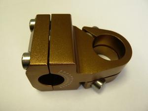 """Primo вынос 1-1/8"""" 49 ф22.2мм AL6061/Т6 фрезирован. коричневый 09-092"""
