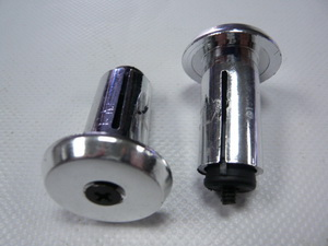 Velo грипстоппер VLP-15СР пластиковые в виде пробки, ф18мм хром.пластик