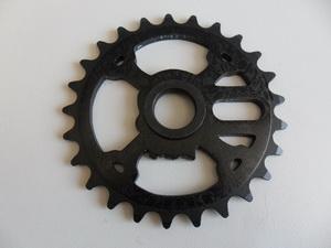 Shadow BMX звезда 25T Crank And Bones Al6061чёрн.