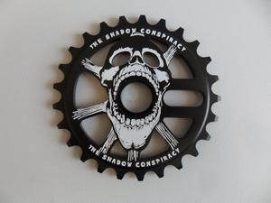 Shadow BMX звезда 28Т Scream Al7075чёрн.