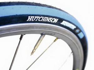 Hutchinson Покрышка EGUINOX 700х25 66tpi стальной корд,слик, PV522045 серая