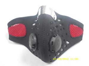 Мотоформа Маска байкера дыхат(стиль ТЕХНО,поллица,клапаны дыхат.) МК008